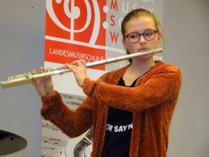 Florentina Eberharter erspielte sich beim Bundeswettbewerb in Klagenfurt einen 3. Preis. Foto: LMS Wörgl