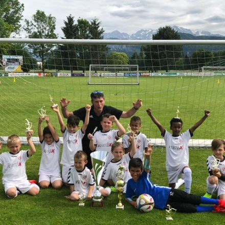 Die Nachwuchsmannschaft des SV Wörgl holte in Salzburg den Turniersieg. Foto: SV Wörgl