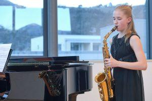 Michaela Niedermair wurde beim Bundeswettbewerb in Klagenfurt mit einem 2. Preis ausgezeichnet. Foto: Land Tirol, Wolfgang Alberty