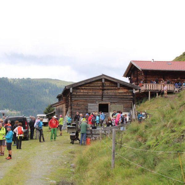 Am 20. Juli 2019 wird die Neuhögen Alm in der Kelchsau Treffpunkt für kunstinteressierte Feinschmecker. Foto: Veronika Spielbichler