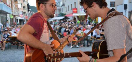 Wörgler Sommernacht am 19. Juni 2019 - Jam Session in der Bahnhofstraße. Foto: Veronika Spielbichler
