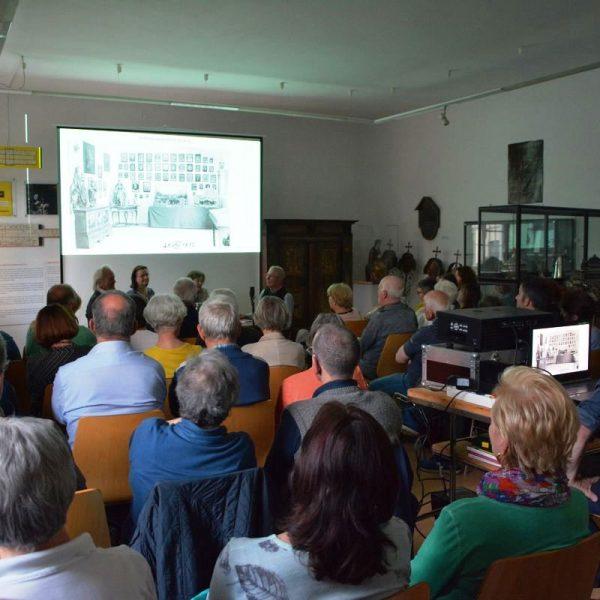 """Heimatmuseum Wörgl - Zeitzeugengespräch """"Jugend im Krieg"""" am 31.5.2019. Foto: David Spielbichler"""