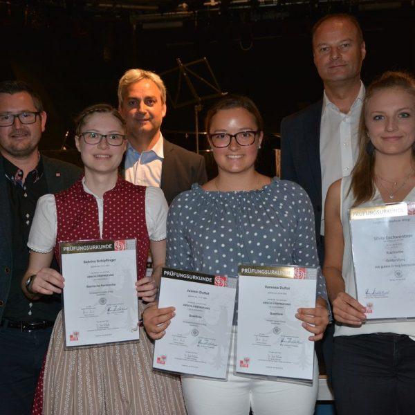Solisten Schlusskonzert der LMS Wörgl am 3. Juli 2019 im Komma Wörgl. Foto: Veronika Spielbichler
