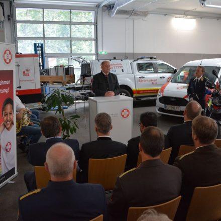 Fahrzeugweihe beim Samariterbund Tirol am 13. Juli 2019. Foto: Samariterbund Tirol