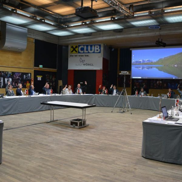 Der Wörgler Gemeinderat tagte am 9. Juli 2019. Foto: Veronika Spielbichler