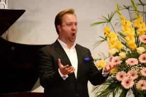 Preisträger Thomas Essl, Bariton. Foto: Academia/Dabernig
