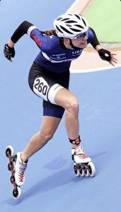 Anna Petutschnigg in Aktion. Foto: SC Lattella Wörgl
