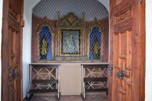 Innenansicht der renovierten Riedhart-Kapelle. Foto: Stadtgemeinde Wörgl