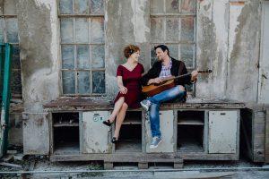 """In der Liebeskomödie """"Eine Sommernacht"""" spielen Olivia Raclot & Stefan Bric. Foto: Melanie Karrer"""
