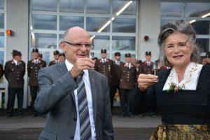 Festakt für Stadtpfarrer Theo Mairhofer mit Gottesdienst, Agape und Ehrenringverleihung am 10.8.2019. Foto: Veronika Spielbichler