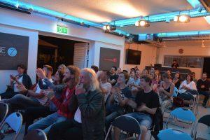 Poetry Slam am 10.8.2019 in der Zone Kultur.Leben.Wörgl. Foto: Veronika Spielbichler