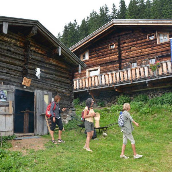 Stationen-Theater auf der Alm in der Kelchsau am 10. August 2019. Foto: Veronika Spielbichler