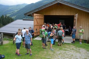 Stationen-Theater auf der Alm in der Kelchsau am 10. August 2019. Foto: Veronika Spielbichler