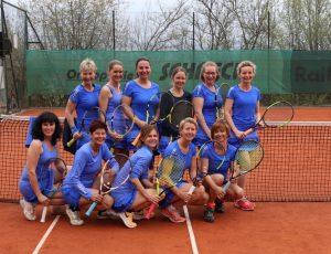 Erfolgreiche Saison für die Wörgler Tennis-Damenmannschaft. Foto: TC Wörgl