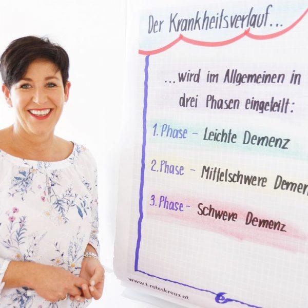 Das Rote Kreuz startet Mitte September ein neuen Beratungsangebot für Angehörige von Demenz-Erkrankten. Foto: ÖRK Kufstein