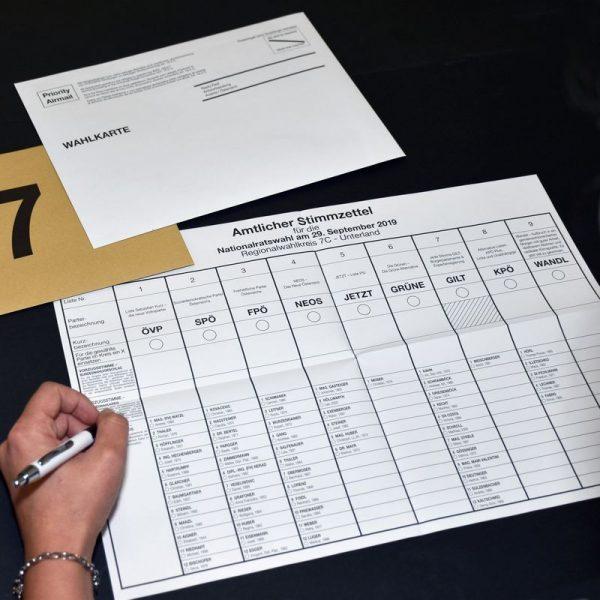 """Wählen mit der Wahlkarte ist möglich mittels Briefwahl, vor einer Wahlbehörde in jenen Wahllokalen, die Wahlkarten entgegennehmen, oder beim Besuch einer besonderen (""""fliegenden"""") Wahlbehörde. © Land Tirol/Sax"""
