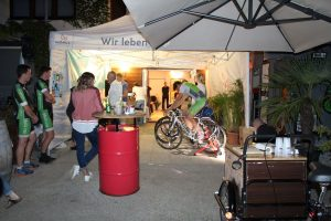 "Tiroler Radlkino ""Last Fisherman"" am 17.9.2019 in der Zone Wörgl. Foto: Veronika Spielbichler"