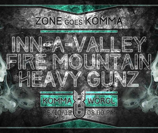 Zone goes Komma am 5.10.2019. Foto: Facebook