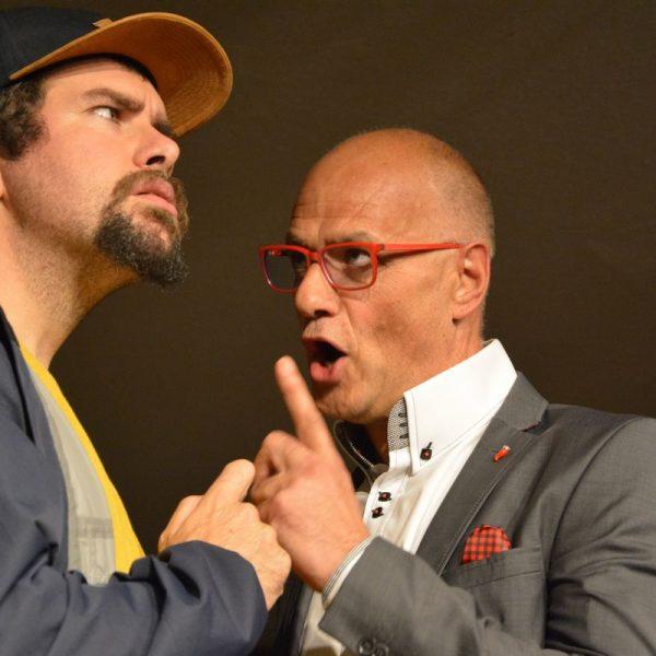 Gastspiel Komik des Bösen - Stadttheater Kufstein in der Zone Wörgl am 4.10.2019. Foto: Veronika Spielbichler