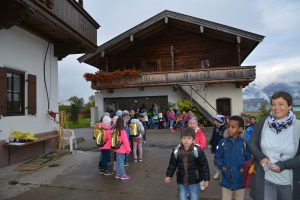 Schule am Bauernhof beim Wallerbauern in Wörgl am 16. Oktober 2019. Foto: Veronika Spielbichler