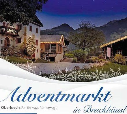 Der 3. Bruckhäusler Adventmarkt findet am 1.12.2019 von 10-17 Uhr am Oberluech-Hof in Kirchbichl, Römerstraße 1 statt. Foto: Familie Mayr
