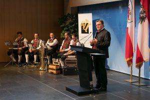 Ehrung Tiroler Blasmusikverband 2019. Foto: Hofer
