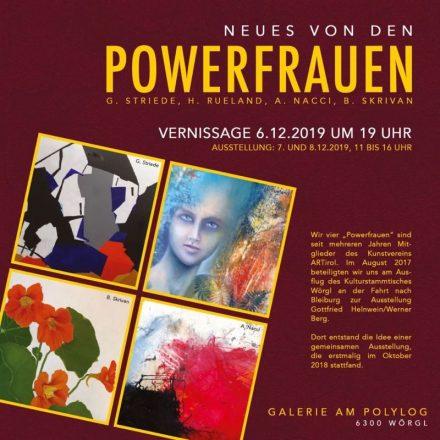 Vier Künstlerinnen stellen gemeinsam in Wörgl aus. Foto: Galerie am Polylog