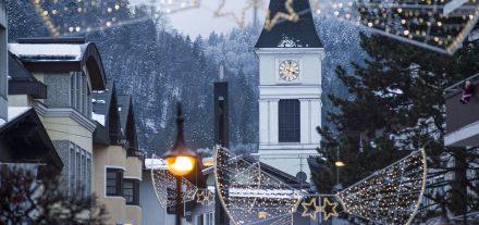 Auch 2019 wird die Wörgler Innenstadt wieder weihnachtlich beleuchtet. Foto: Dabernig