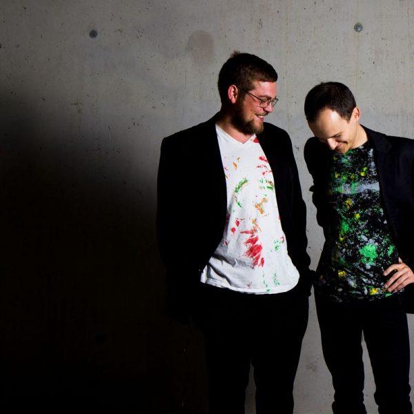 Christian Spitzenstaetter und Florian Reider sind das Fleckl-Duo. Foto: Fleckl-Duo