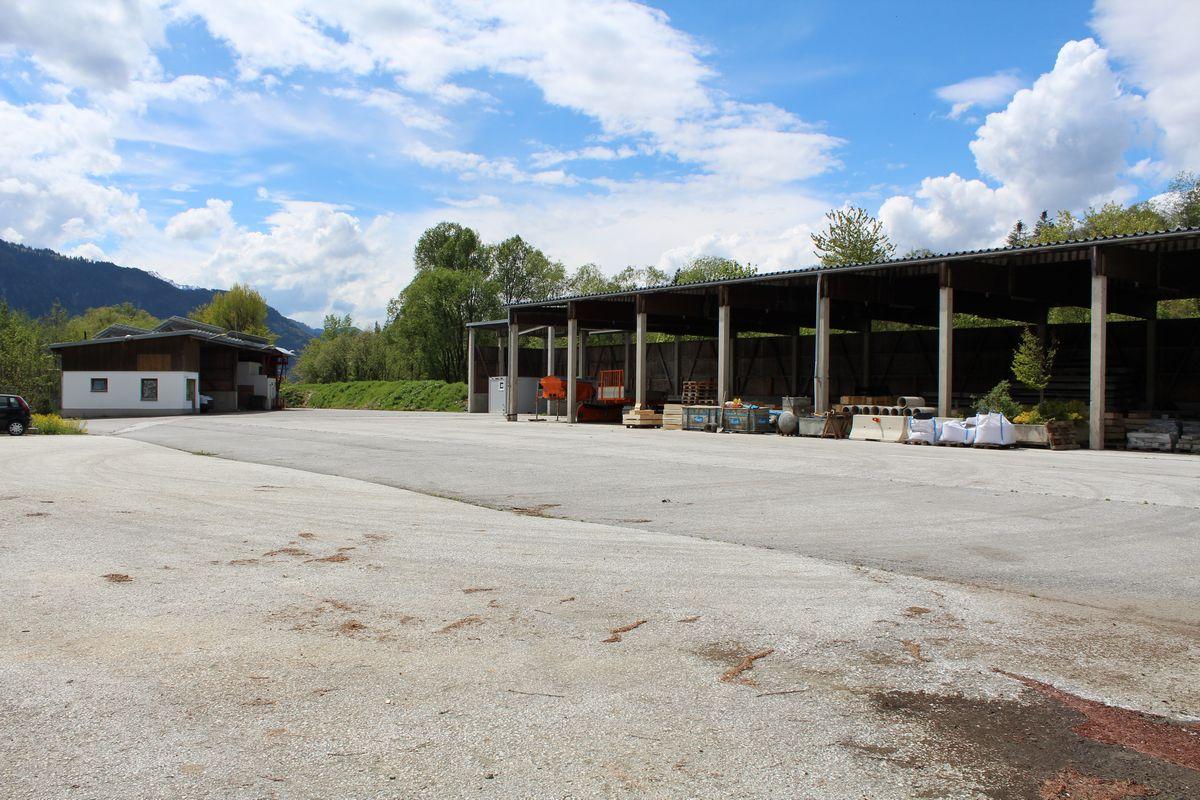 Gelände Kompostieranlage Wörgl. Foto: Veronika Spielbichler