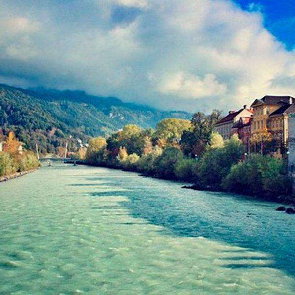 Inn - Der grüne Fluss aus den Alpen wird am Donnerstag, 21. November ab 19:30 im Tagungshaus Wörgl mit Film und Vortrag vorgestellt. Foto. Wörgler Grüne