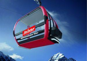 So wird die neue Salvistabahn Itter - Vierergondel aussehen. Foto: SkiWelt Wilder Kaiser-Brixental