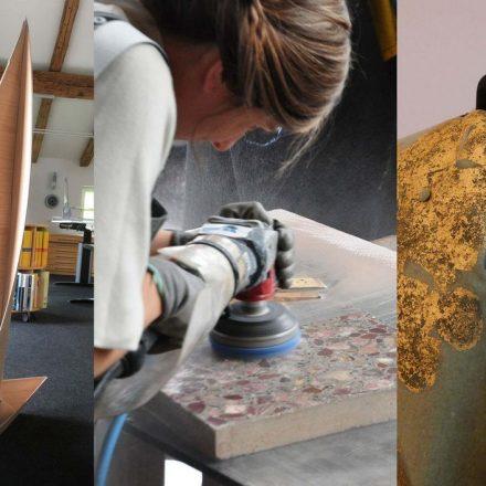 DesignerInnen arbeiteten bei DESIR mit lokalen HandwerkerInnen zusammen. Foto: Netzwerk Handwerk