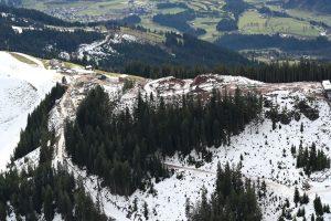 "Grobaustelle auf der ""kleinen Salve"" - hier baut die SkiWelt Wilder Kaiser-Brixental. Foto: TVB/Magdalena Laiminger"