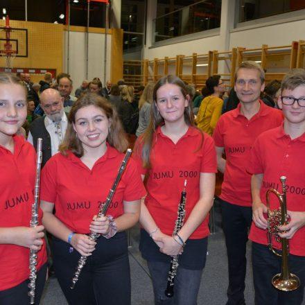 Cälilienkonzert der Bruckhäusler Jugendmusikkapelle und der Bläserklasse Bruckhäusl am 22.11.2019. Foto: Veronika Spielbichler