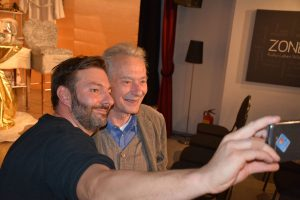 Krach im Hause Gott mit Felix Mitterer am 2.11.2019 in der Zone Wörgl. Foto: Veronika Spielbichler