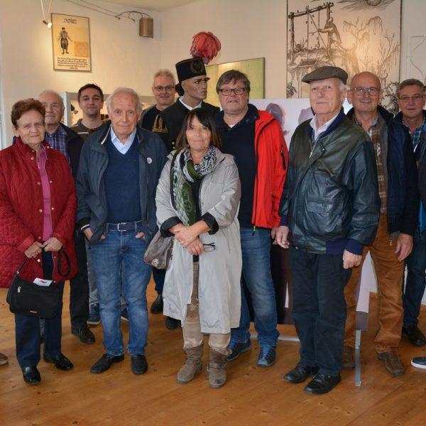 Wörgler Heimatmuseumsverein zu Besuch im Brixlegger Bergbau- und Hüttenmuseum. Foto: Veronika Spielbichler