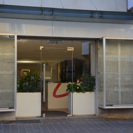 Neues Stadtmarketing-Büro in der unteren Bahnhofstraße November 2019. Foto: Veronika Spielbichler