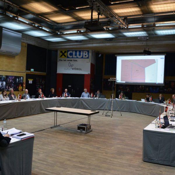 Wörgler Gemeinderat am 12. November 2019. Foto: Veronika Spielbichler