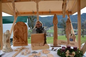 Adventmarkt am Oberluecher Hof am 1.12.2019. Foto: Veronika Spielbichler