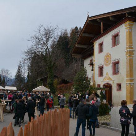 Adventmarkt am Oberluecher Hof am 1.12.2019. Foto: Veronika Spielbichler