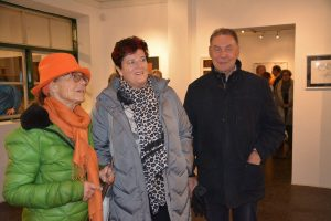 "Vernissage ""Emotionen Farben Formen Zeichnungen"" am 29.11.2019 in der Galerie am Polylog in Wörgl. Foto: Veronika Spielbichler"