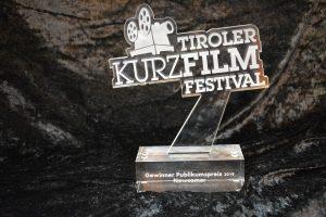 Preisverleihung an der BFWörgl an die Newcomer-Sieger des 7. Tiroler Kurzfilmfestivals im Dezember 2019. Foto: Veronika Spielbichler