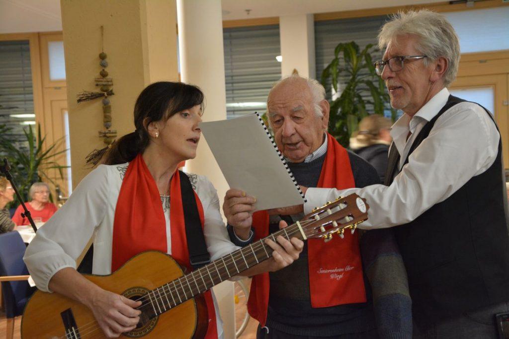 Seniorenheim Weihnachtsfeier in Wörgl am 23.12.2019. Foto: Veronika Spielbichler