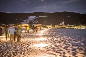 Weihnachtspfad in Itter am 26.12.2019. Foto: TVB Ferienregion Hohe Salve
