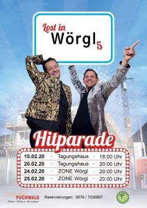 Zum 5. Mal: Lost in Wörgl - der kabarettistische Jahresrückblick von Stefan Peschta (rechts) und Jürgen Chmela-Heiss (links). Foto: facebook