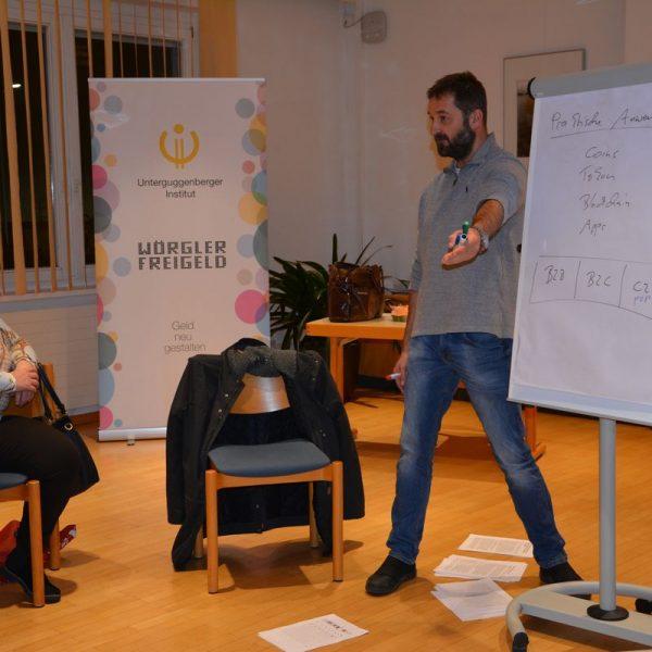 Das Unterguggenberger Institut startet am 8. Jänner 2020 wieder mit den monatlichen CryptoCircle-Treffen unter der Leitung von Heinz J. Hafner.
