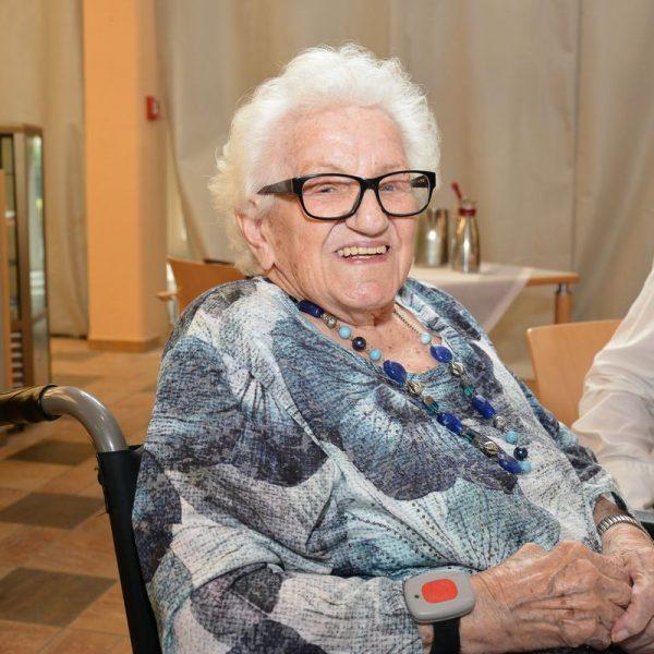 Stellte Zeit ihres Lebens ihr Werken in den Dienst der Gemeinschaft: Ehrenzeichenträgerin Anna Egger. Foto: Seniorenheim Wörgl