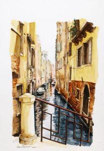 Venedig von Edda Hausberger. Foto: Hans Hausberger