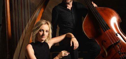 """Katrin und Werner Unterlercher stellen ihre erste CD """"Flowers"""" am 7. März 2020 im Komma Wörgl vor. Foto: Günther Egger"""